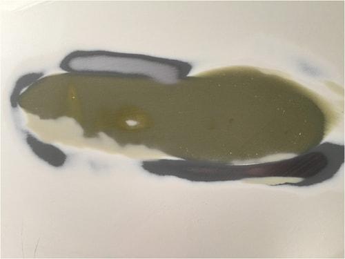 3度目のパテ塗り、厚塗りパテを塗る